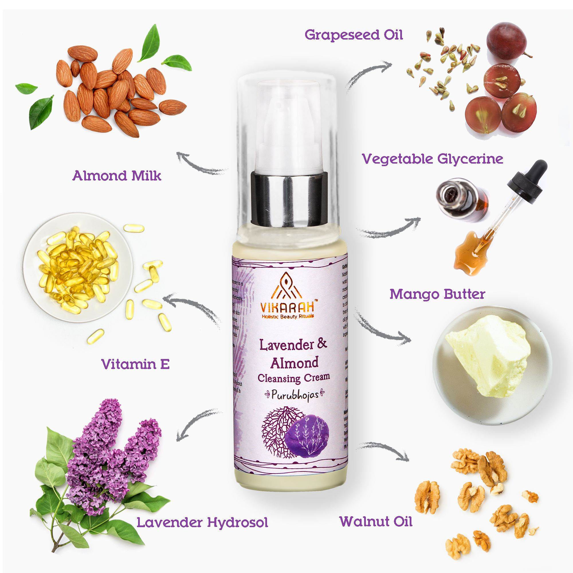 Lavender And Almond Cleansing Cream