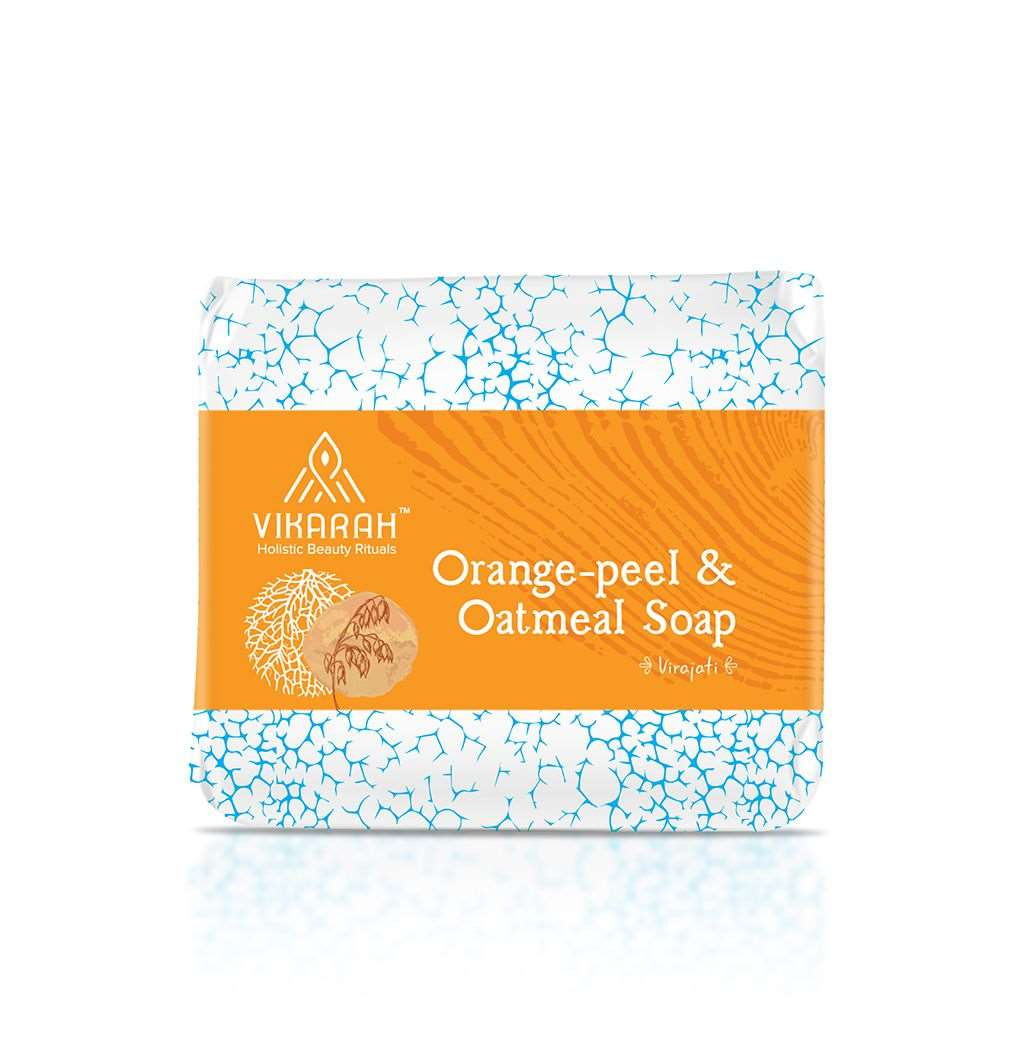 Orange Peel and Oatmeal Soap